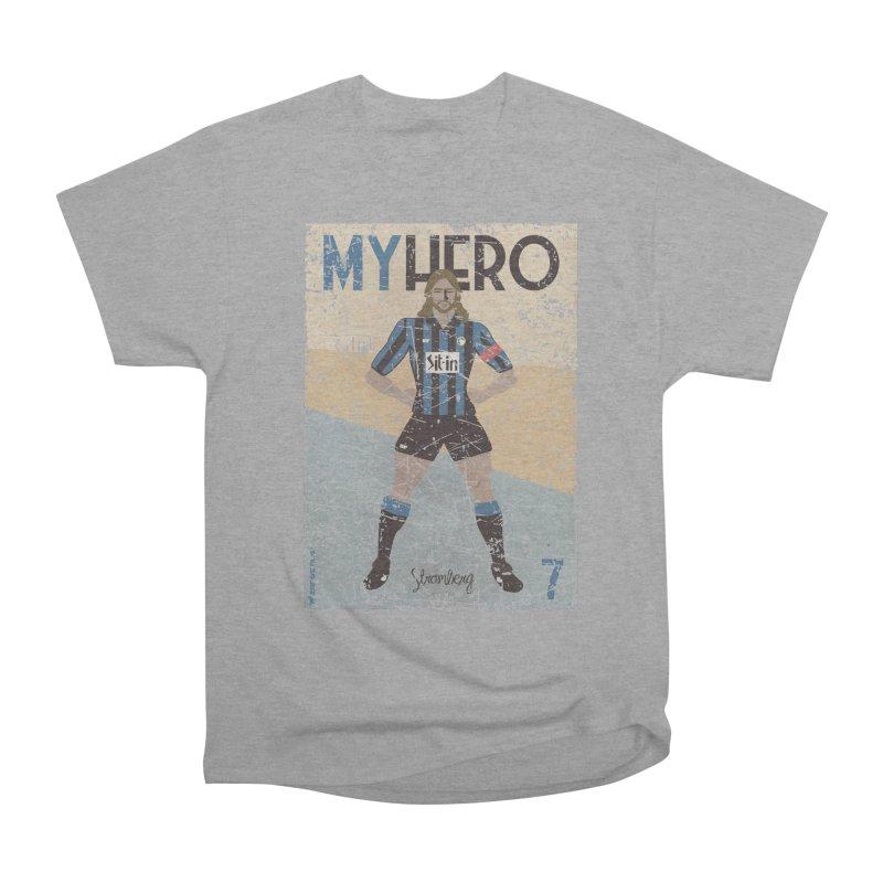 Stromberg My hero Grunge Edition Women's Heavyweight Unisex T-Shirt by ZEROSTILE'S ARTIST SHOP