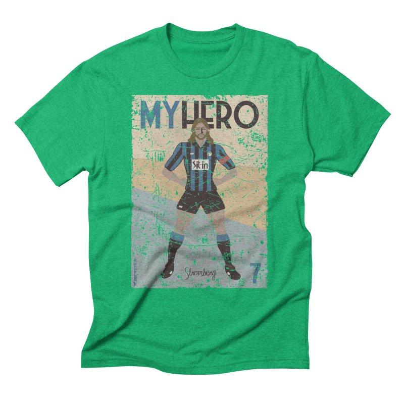 Stromberg My hero Grunge Edition Men's Triblend T-Shirt by ZEROSTILE'S ARTIST SHOP