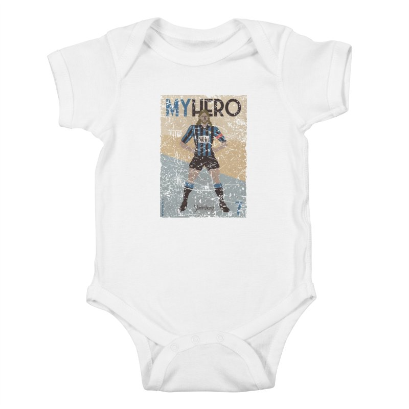 Stromberg My hero Grunge Edition Kids Baby Bodysuit by ZEROSTILE'S ARTIST SHOP