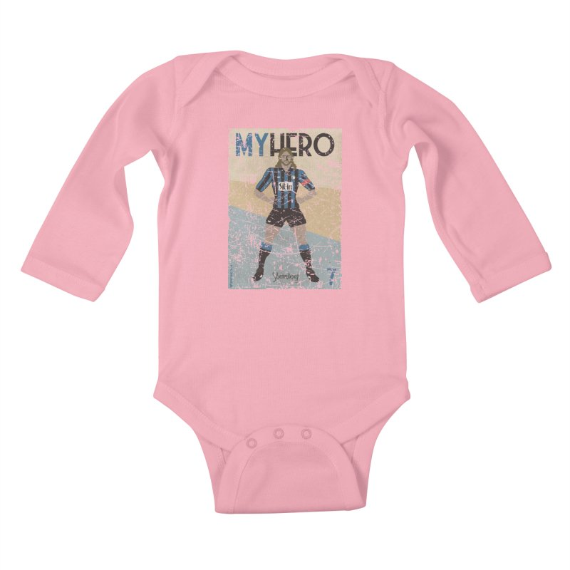 Stromberg My hero Grunge Edition Kids Baby Longsleeve Bodysuit by ZEROSTILE'S ARTIST SHOP