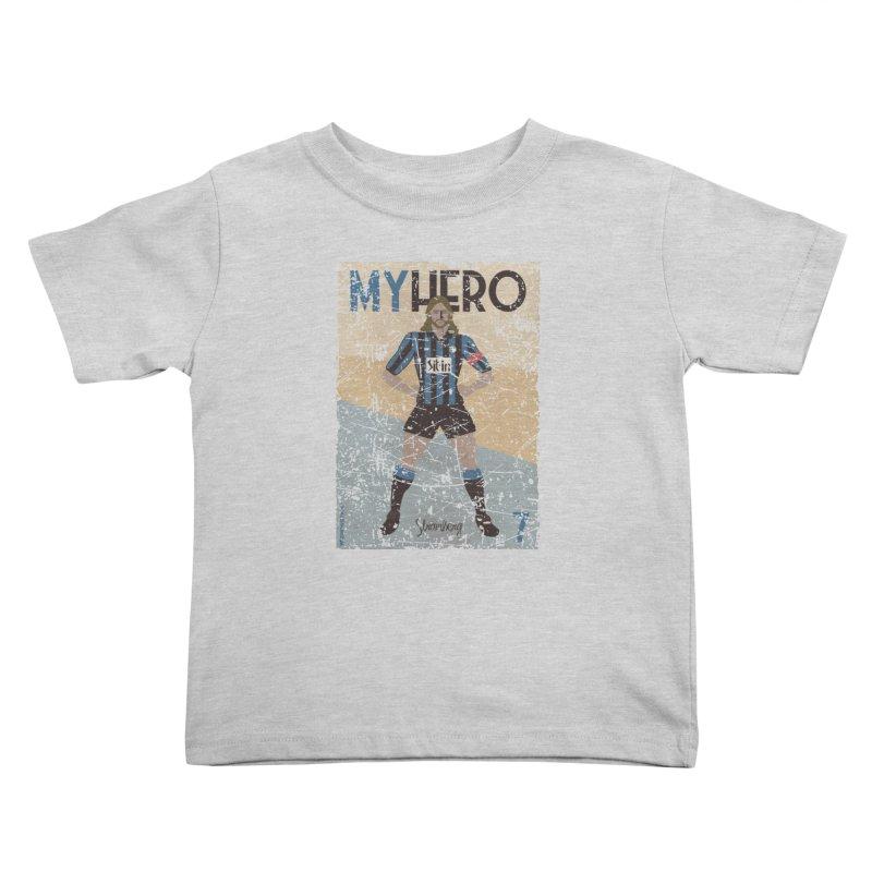 Stromberg My hero Grunge Edition Kids Toddler T-Shirt by ZEROSTILE'S ARTIST SHOP