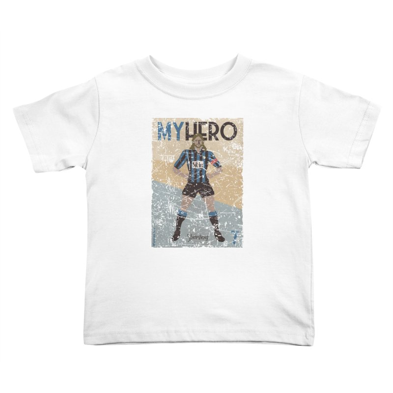 Stromberg My hero Grunge Edition Kids Toddler T-Shirt by ZEROSTILE'S ARTIST SHOP