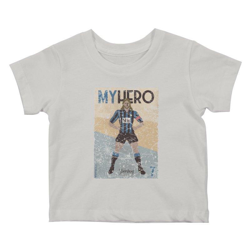 Stromberg My hero Grunge Edition Kids Baby T-Shirt by ZEROSTILE'S ARTIST SHOP
