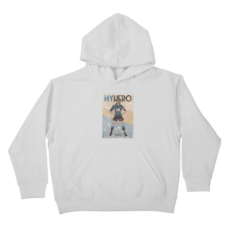 Stromberg My hero Grunge Edition Kids Pullover Hoody by ZEROSTILE'S ARTIST SHOP