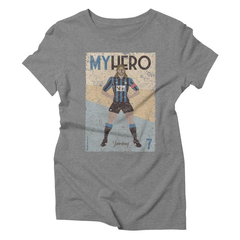 Stromberg My hero Grunge Edition Women's Triblend T-Shirt by ZEROSTILE'S ARTIST SHOP
