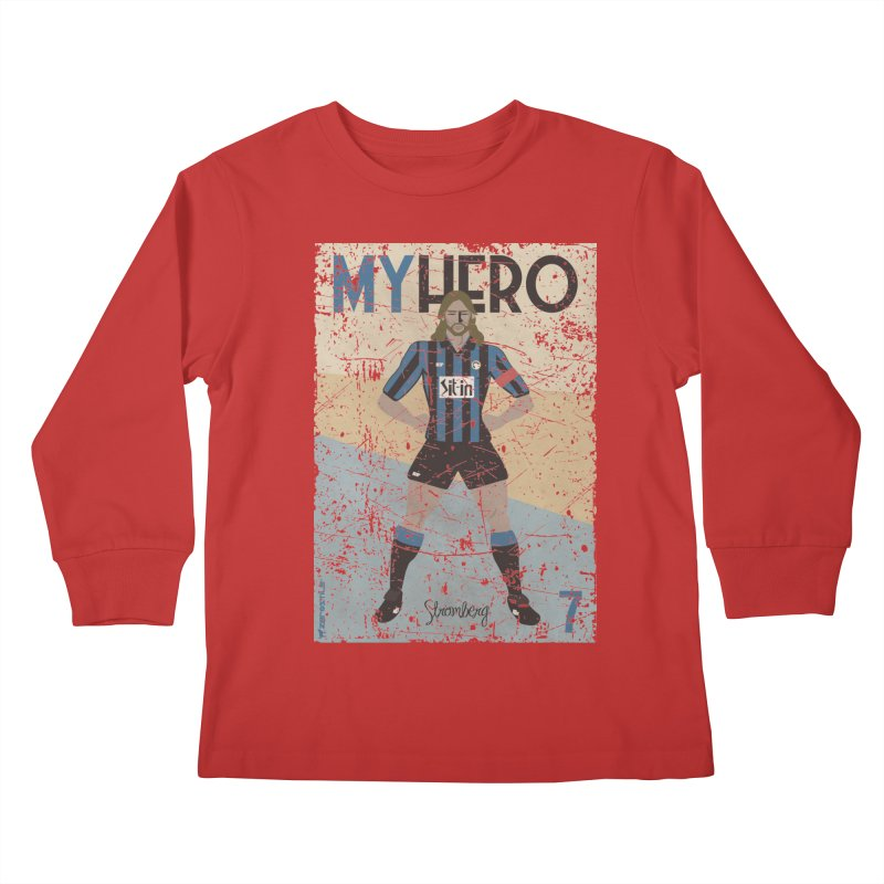 Stromberg My hero Grunge Edition Kids Longsleeve T-Shirt by ZEROSTILE'S ARTIST SHOP