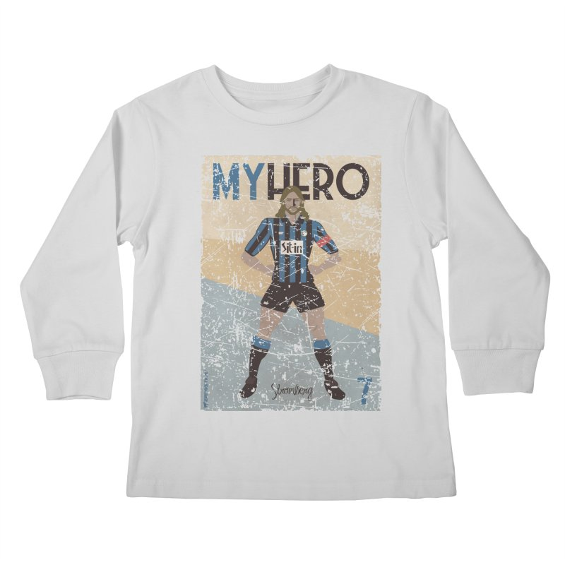 Stromberg My hero Grunge Edition Kids Longsleeve T-Shirt by ZEROSTILE'S ARTIST SHOP