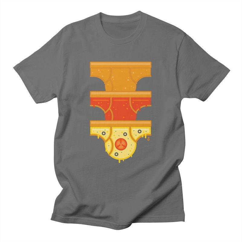 Better Than Pizza Men's T-Shirt by Zhion T-Shop