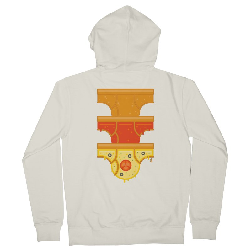 Better Than Pizza Women's Zip-Up Hoody by Zhion T-Shop