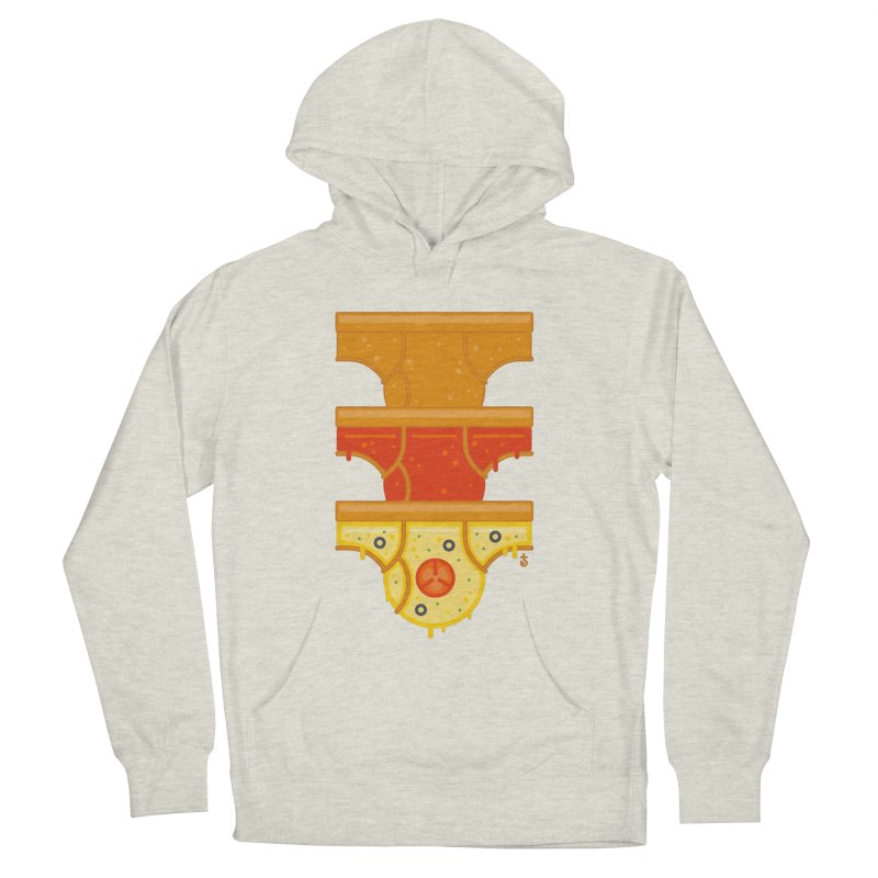 Better Than Pizza Women's French Terry Pullover Hoody by Zhion T-Shop