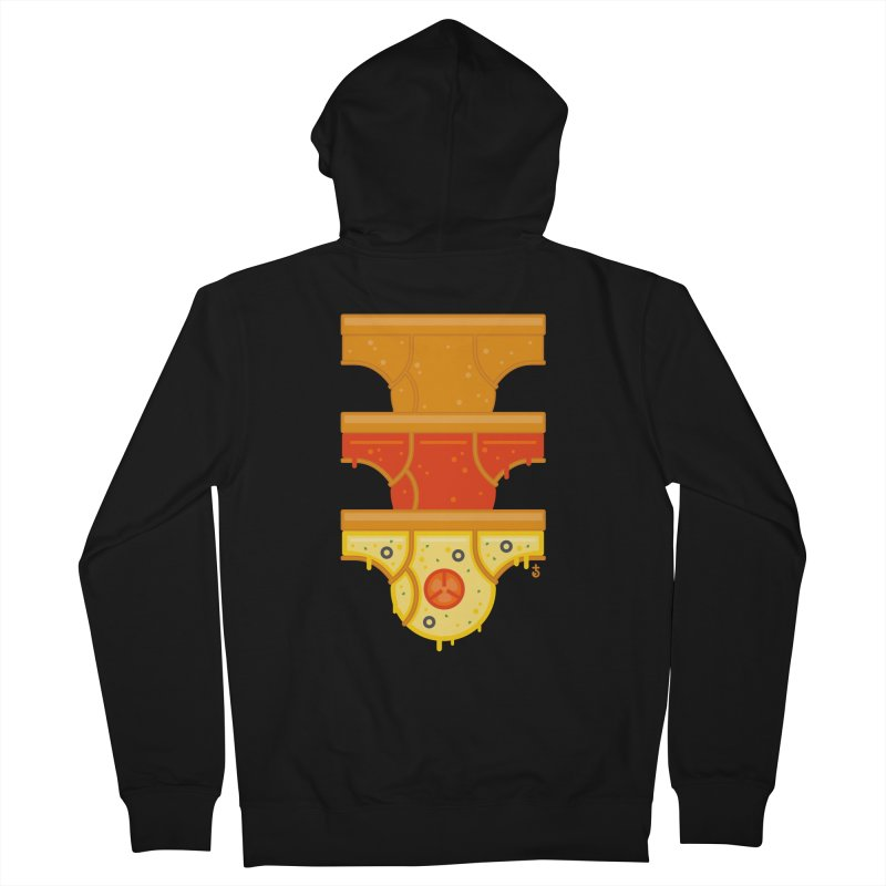 Better Than Pizza Men's Zip-Up Hoody by Zhion T-Shop