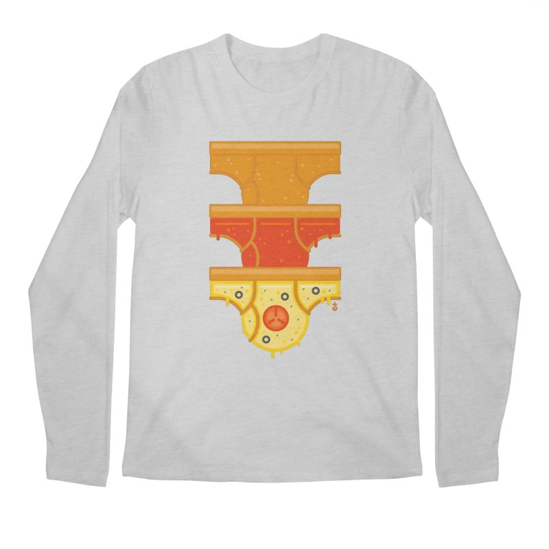 Better Than Pizza Men's Longsleeve T-Shirt by Zhion T-Shop