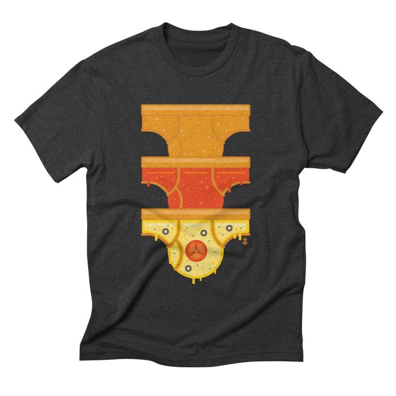 Better Than Pizza Men's Triblend T-shirt by Zhion T-Shop