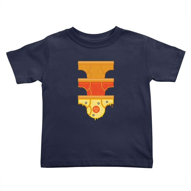 Better Than Pizza Kids Toddler T-Shirt by Zhion T-Shop
