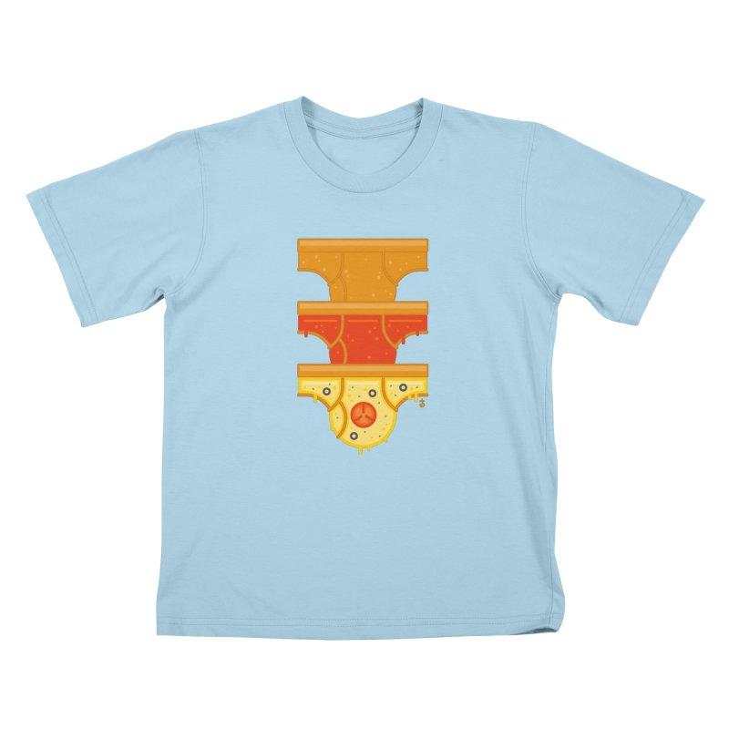 Better Than Pizza Kids T-Shirt by Zhion T-Shop