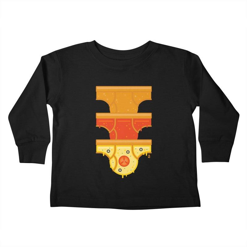Better Than Pizza Kids Toddler Longsleeve T-Shirt by Zhion T-Shop