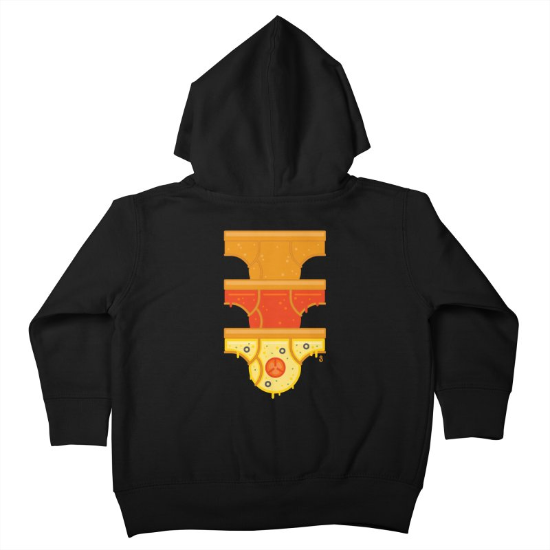 Better Than Pizza Kids Toddler Zip-Up Hoody by Zhion T-Shop