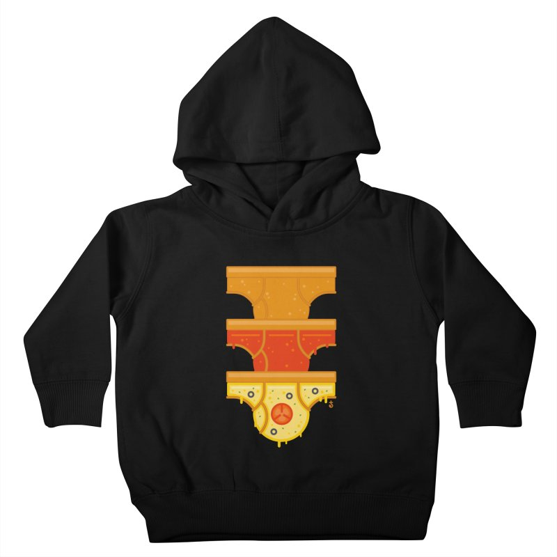 Better Than Pizza Kids Toddler Pullover Hoody by Zhion T-Shop
