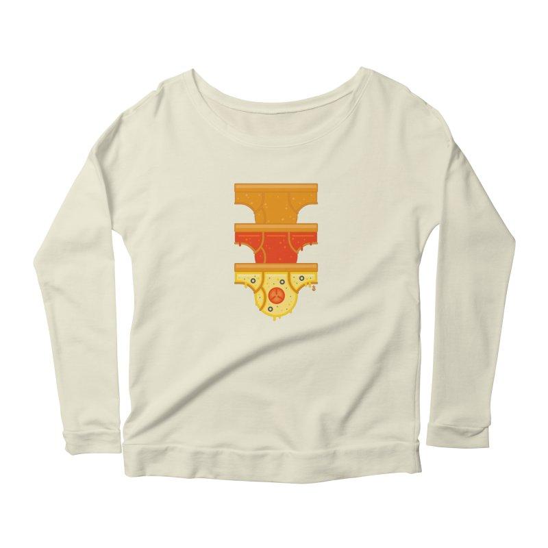 Better Than Pizza Women's Longsleeve T-Shirt by Zhion T-Shop