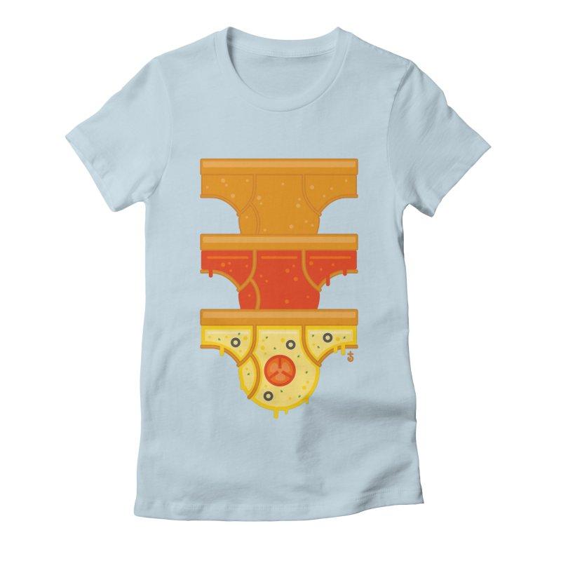 Better Than Pizza Women's T-Shirt by Zhion T-Shop