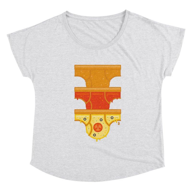 Better Than Pizza Women's Scoop Neck by Zhion T-Shop