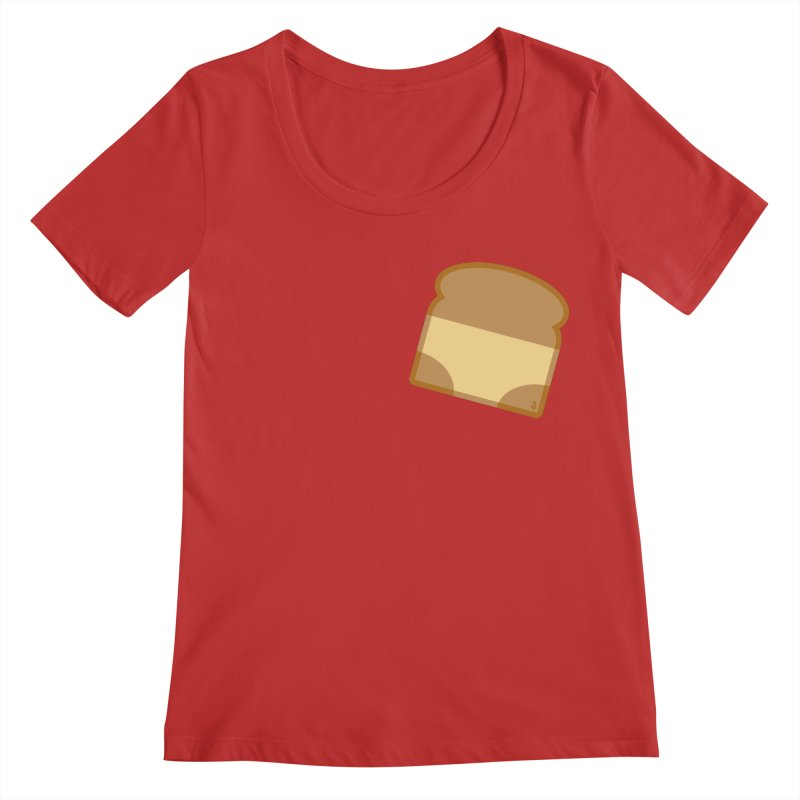 Crunchy Women's Regular Scoop Neck by Zhion T-Shop