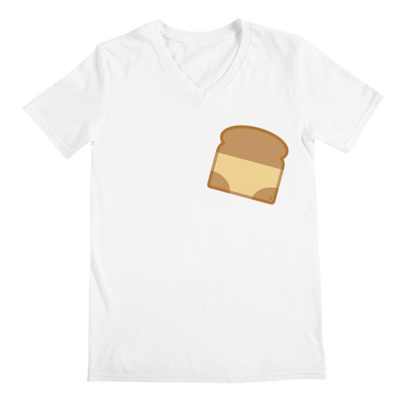 Crunchy Men's V-Neck by Zhion T-Shop