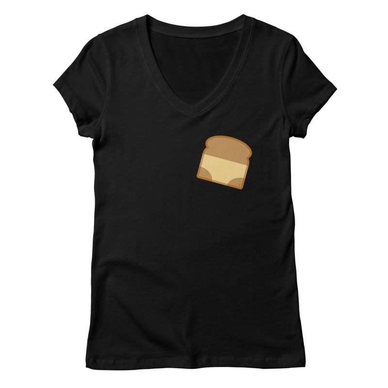 Crunchy Women's V-Neck by Zhion T-Shop