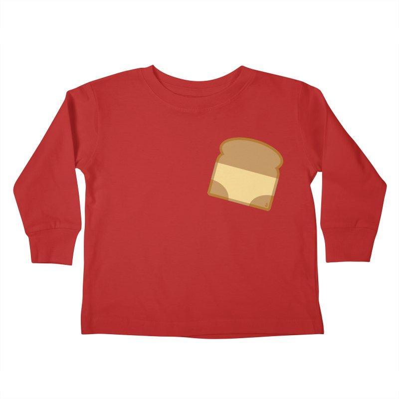 Crunchy Kids Toddler Longsleeve T-Shirt by Zhion T-Shop