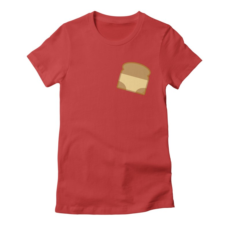 Crunchy Women's Fitted T-Shirt by Zhion T-Shop