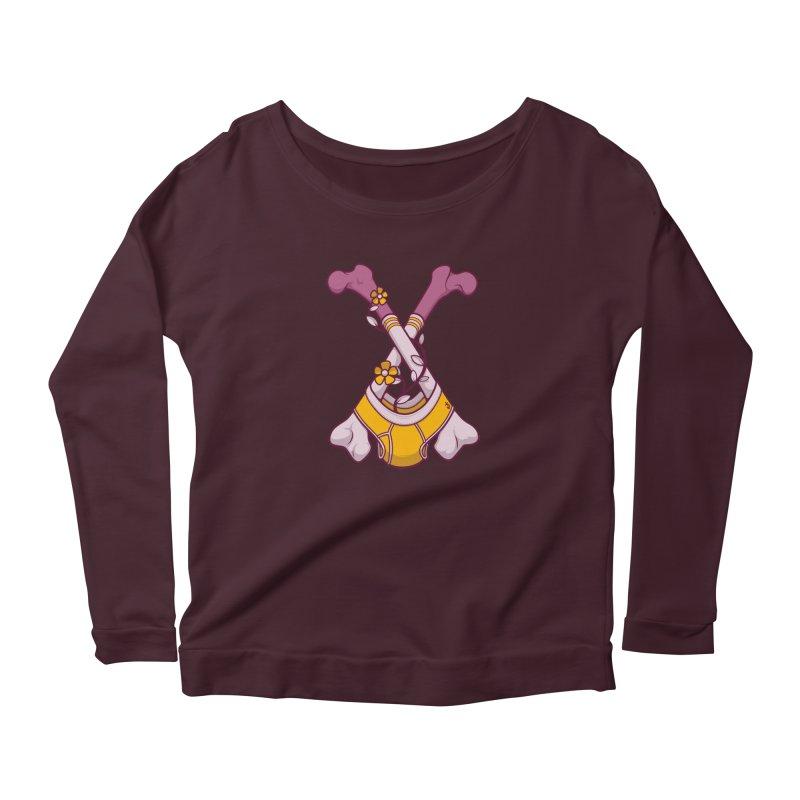Cross Bones Women's Longsleeve T-Shirt by Zhion T-Shop