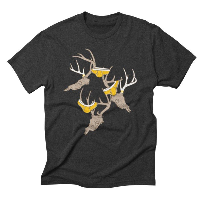 Horns Men's T-Shirt by Zhion T-Shop