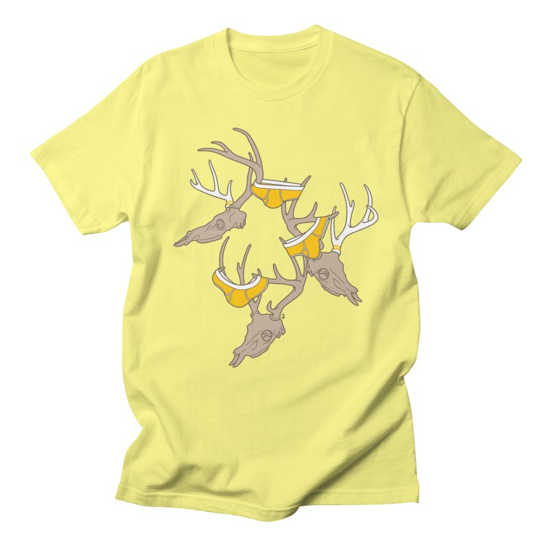 Horns Men's T-Shirt by Zhion T-Shop