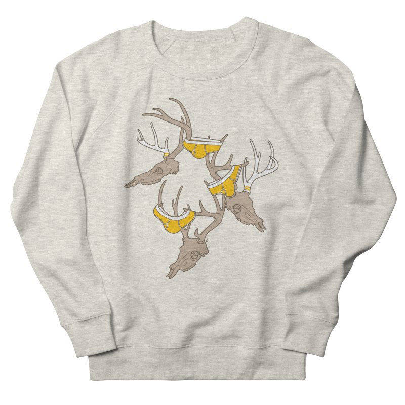 Horns Men's French Terry Sweatshirt by Zhion T-Shop