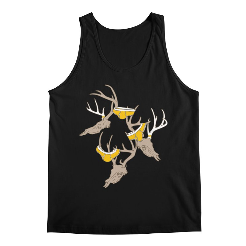 Horns Men's Tank by Zhion T-Shop