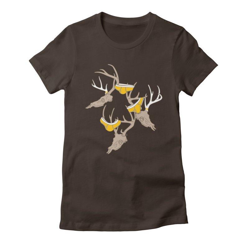 Horns Women's T-Shirt by Zhion T-Shop
