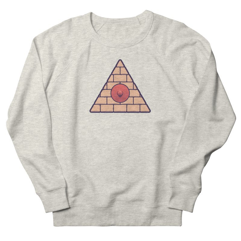 Illuminipple - Pink Women's French Terry Sweatshirt by Zhion T-Shop