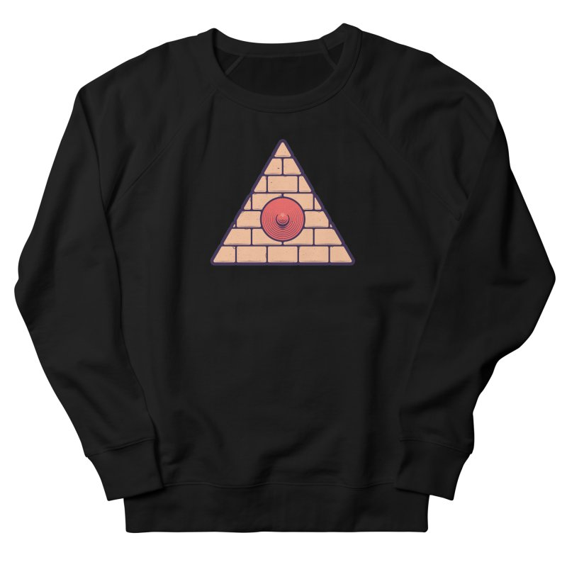 Illuminipple - Pink Men's French Terry Sweatshirt by Zhion T-Shop