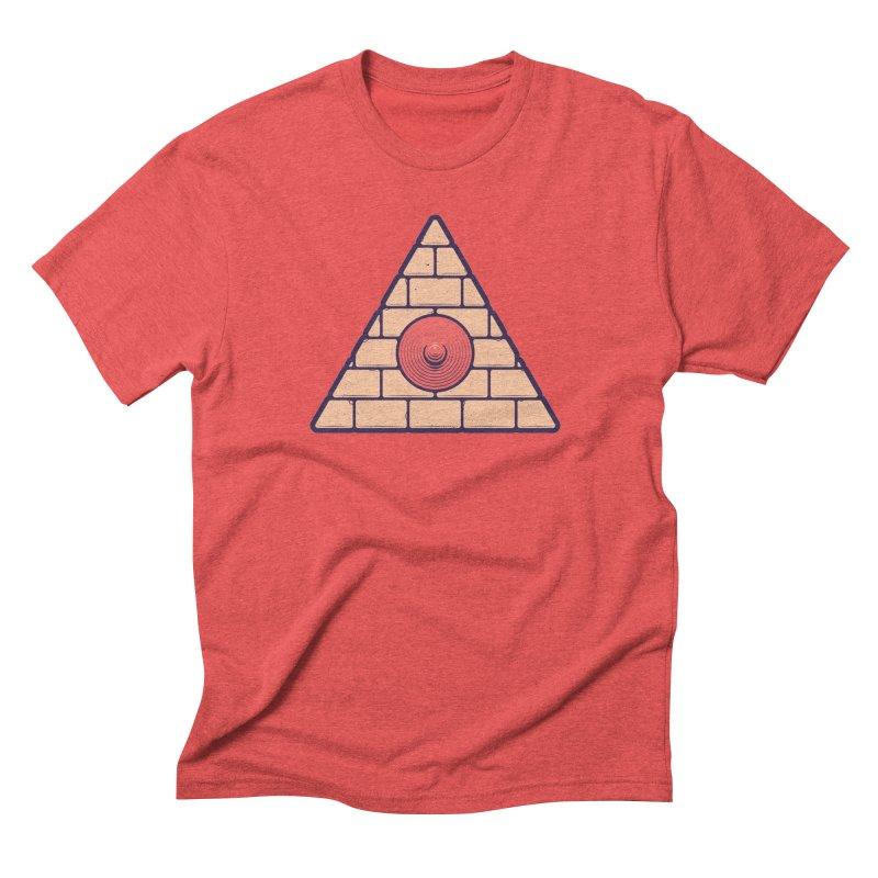 Illuminipple - Pink Men's Triblend T-shirt by Zhion T-Shop