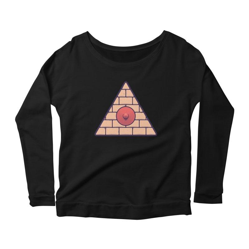 Illuminipple - Pink Women's Scoop Neck Longsleeve T-Shirt by Zhion T-Shop