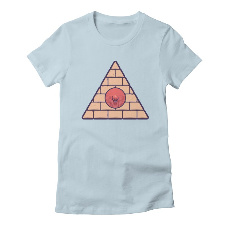 Illuminipple - Pink Women's T-Shirt by Zhion T-Shop