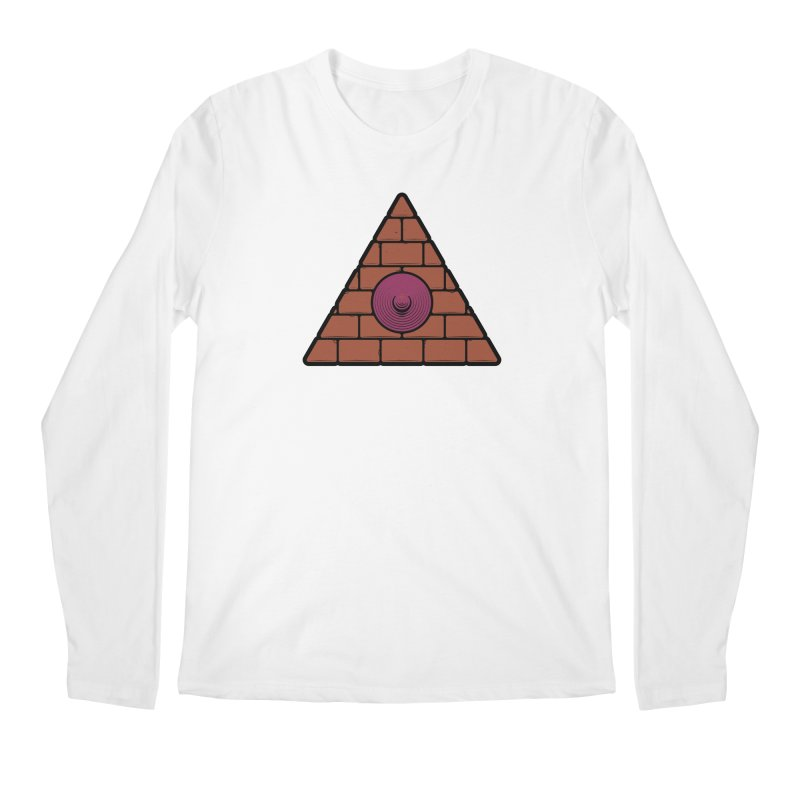 Illuminipple - Purple Men's Longsleeve T-Shirt by Zhion T-Shop