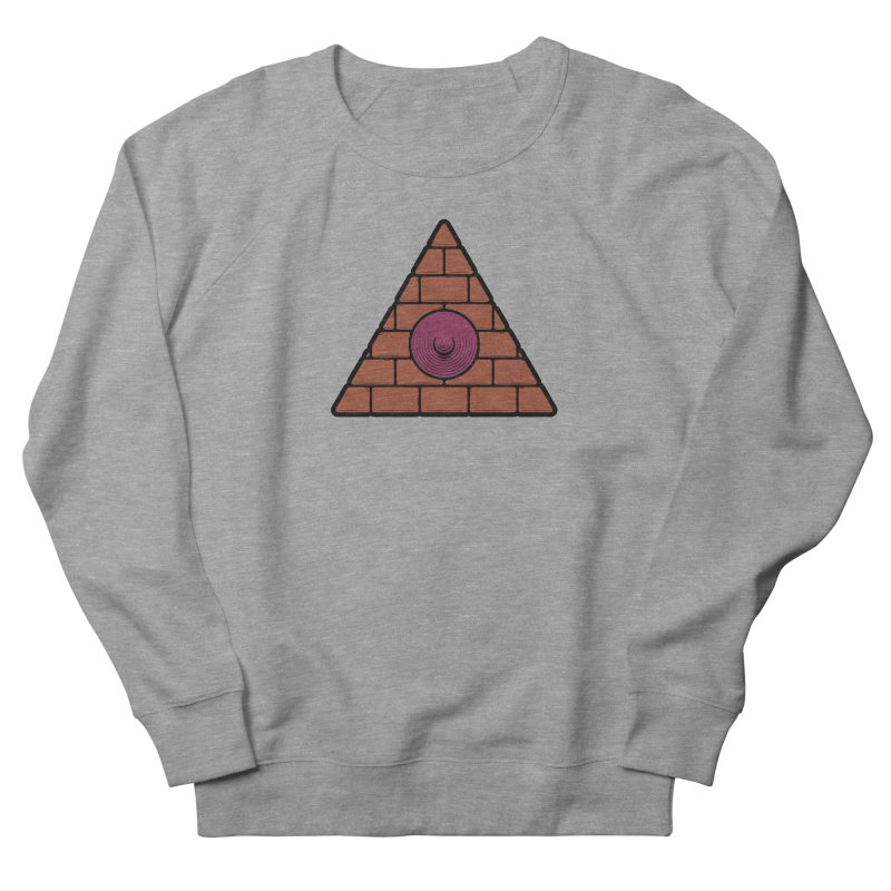 Illuminipple - Purple Women's French Terry Sweatshirt by Zhion T-Shop