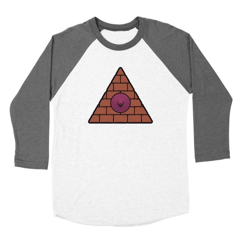 Illuminipple - Purple Women's Baseball Triblend Longsleeve T-Shirt by Zhion T-Shop