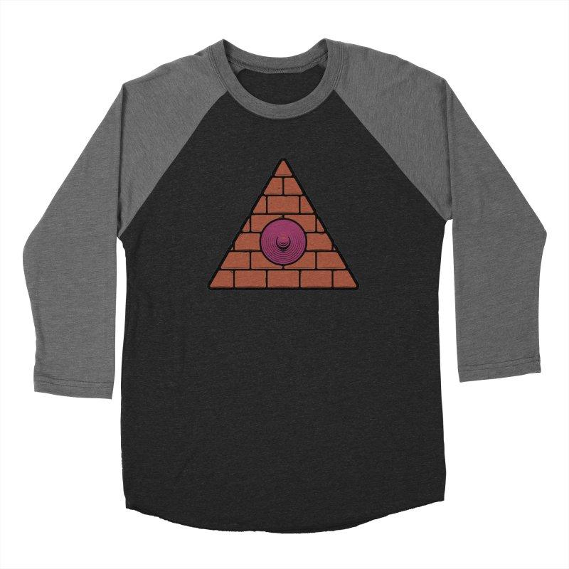 Illuminipple - Purple Men's Baseball Triblend Longsleeve T-Shirt by Zhion T-Shop