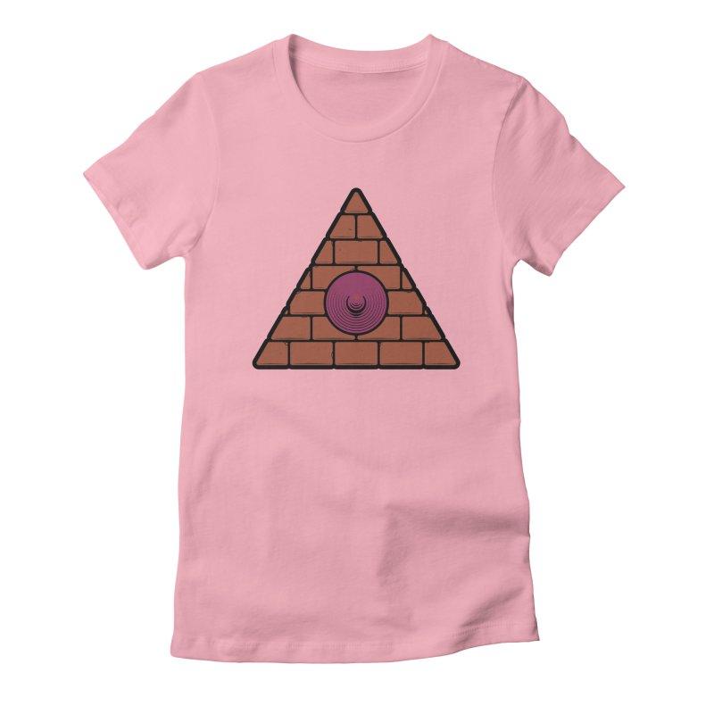 Illuminipple - Purple Women's Fitted T-Shirt by Zhion T-Shop