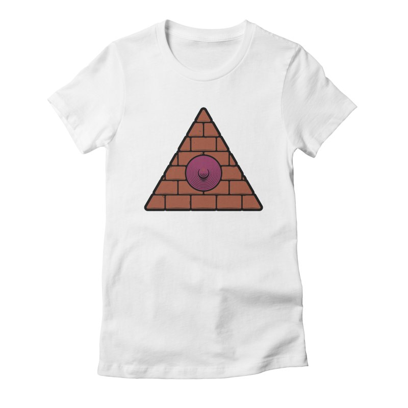 Illuminipple - Purple Women's Fitted T-Shirt by Zhion T-Shop