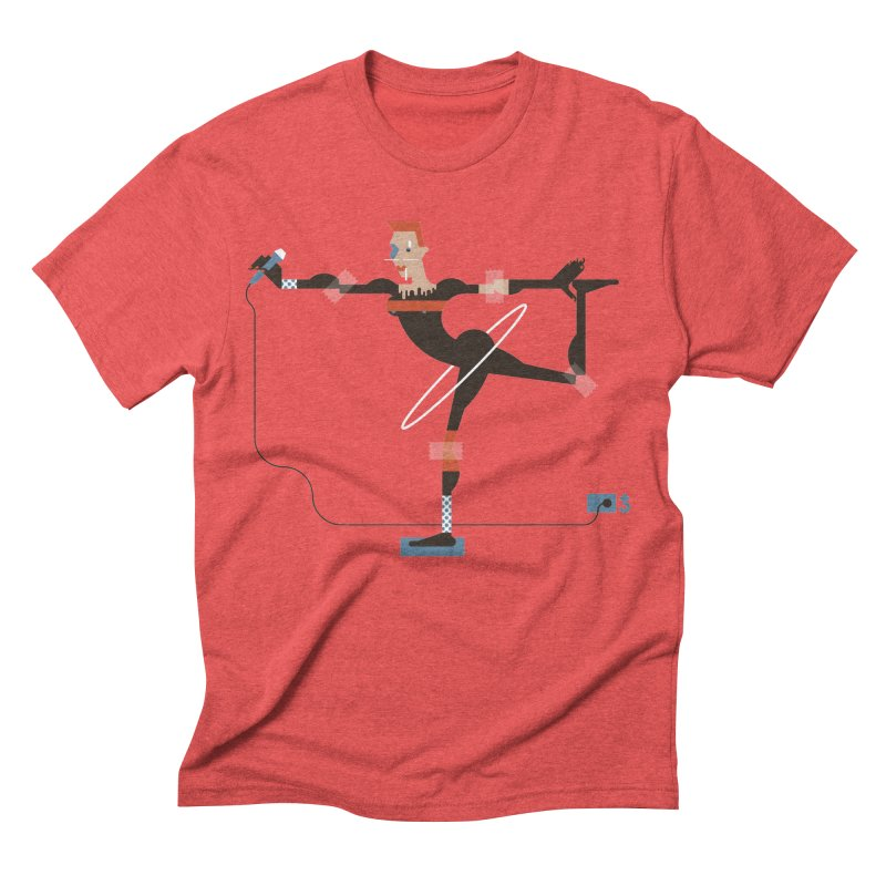Grace Men's Triblend T-shirt by Zhion T-Shop