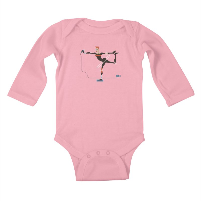 Grace Kids Baby Longsleeve Bodysuit by Zhion T-Shop