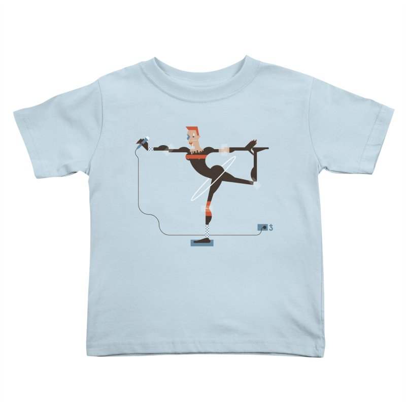 Grace Kids Toddler T-Shirt by Zhion T-Shop